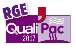 Logo RGE Qualipac 2017